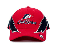 Old Spice Hat #47 Cal Naughton Cap Talladega Nights Unisex Red