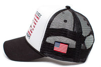 Eagle Back To Back World War Champs Unisex-Adult Cap -One-Size Black/White