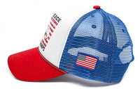 Eagle Back To Back World War Champs Unisex-Adult Cap -One-Size Royal/White/Red