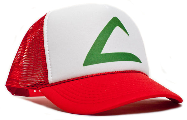 Curved Bill 'POKEMON -ASH KETCHUM' Cartoon Hat Cap Trucker Baseball Snapback