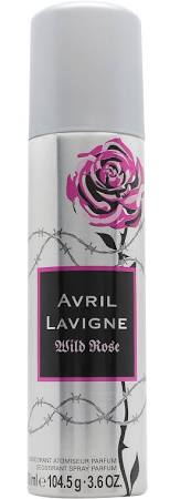 Avril Lavigne Wild Rose Deodorant Spray 150ml