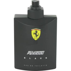 Ferrari Scuderia Ferrari Black Eau de Toilette 125ml Spray