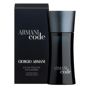 Giorgio Armani Code Eau De Toilette 75ml Spray
