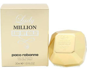 Paco Rabanne Lady Million Eau My Gold! Eau de Toilette 30ml Spray | ShaneToddGifts.co.uk