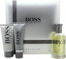 Hugo Boss Boss Bottled Gift Set 100ml EDT + 50ml Shower Gel + 75ml Aftershave Balm