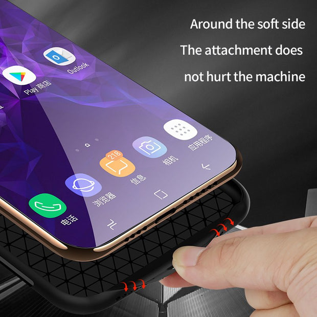 1 Pcs Phone Case Luxury Glass Back Cover Marble Pattern Tempered Glass Hard Phone Case For Samsung Galaxy S8 S9 Plus Note 8
