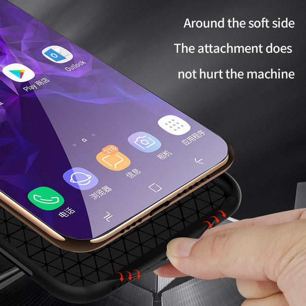 1 Pcs Phone Case Luxury Glass Back Cover The Moon Earth Dog Tempered Glass Hard Phone Case For Samsung Galaxy S8 S9 Plus Note 8