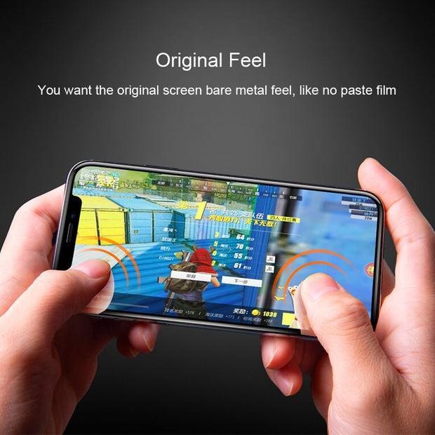 10D Full Curved Tempered Glass On The For IPhone X 7 8 6 Plus XR XS MAX Screen Protector Protective Film For Iphonex Case Cover