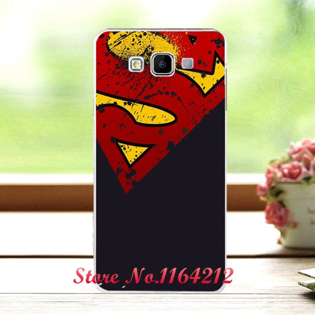 12 Styles New Arrival Dark Man's Case For Samsung Galaxy A3 A3000 A300F Soft Silicone Cover For Samsung A3 + Free Pen