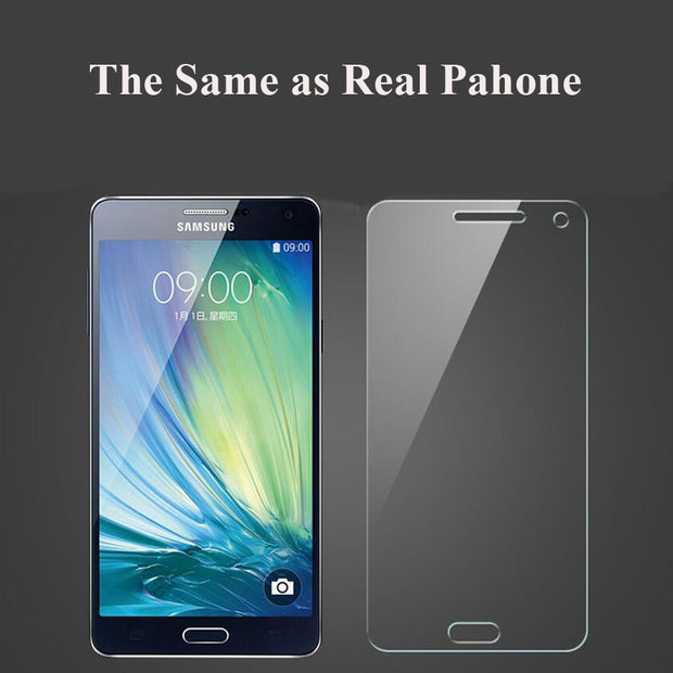 2.5D Tempered Glass For Samsung Galaxy S3 S4 S5 C5 C7 J1 J5 J7 Note 2 3 4 5 Grand Prime G850 G360 Screen Protector Glass Film