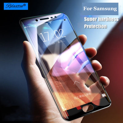 2.5D Cover Film Tempered Glass For Samsung A5 2017 A3 A7 A8 Plus 2018 Sansung J3 J5 J7 Pro 2016 Sumsung Galaxy S7 S6 Screen Case