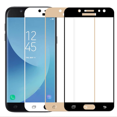 2.5D Full Screen Film Case For Samsung Galaxy S7 S6 J3 J5 J7 Pro A3 A5 A7 2016 2017 2018 Tempered Glass For Sumsung A5 2017