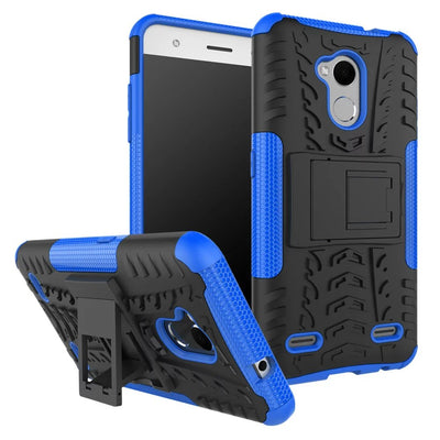 2 IN 1 Case For ZTE Blade V7 Lite Coque Heavy Duty Armor Slim Hard Tough Rubber Cover Silicon Case For ZTE Blade V6 Plus A2 Case