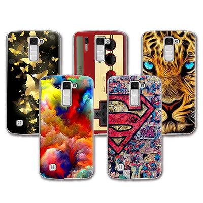 "2016 Newest Lovely Soft Silicone Case For LG K8 Colorful Perfect Painted For LG K8 Lte K350 K350E K350N 5.0"" K 8 4G Fundas Capa"