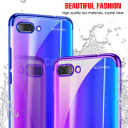 2018 Luxury Ultra Thin Soft Plating Case For Huawei Honor 10 8 9 Lite Full Cover For Huawei P8 Lite 2017 TPU Silicone Cases Case