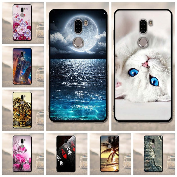 3D Cover Case For Xiaomi 5S Plus Cases Silicone Cover For Xiaomi 5S Plus Case Cover Phone Case Luxury Hard Highly Quality