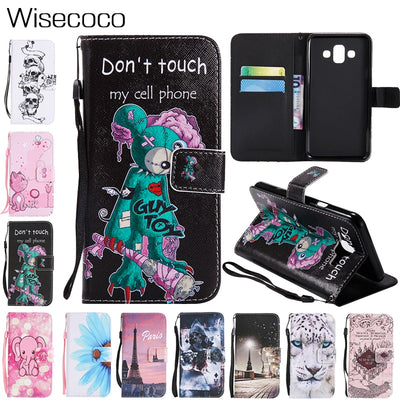 3D Luxury Leather Flip Wallet Stand Case For Samsung Galaxy J1 J3 J4 J5 J6 J7 J8 2016 2017 2018 EU US Prime DUO Cover Coque Etui