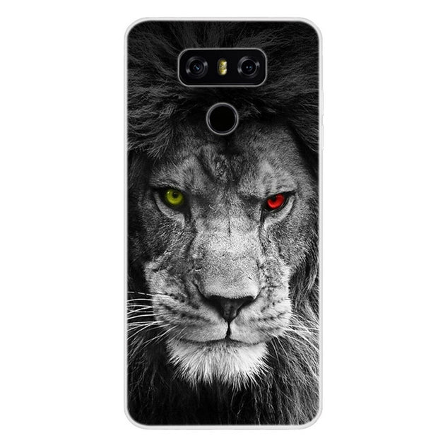 "5.7"" Case For LG G6 Case Soft Silicone Coque For LG G6 TPU Cover Case Fashion Cool Paint Funda For LG G6 G 6 Phone Case Capa"