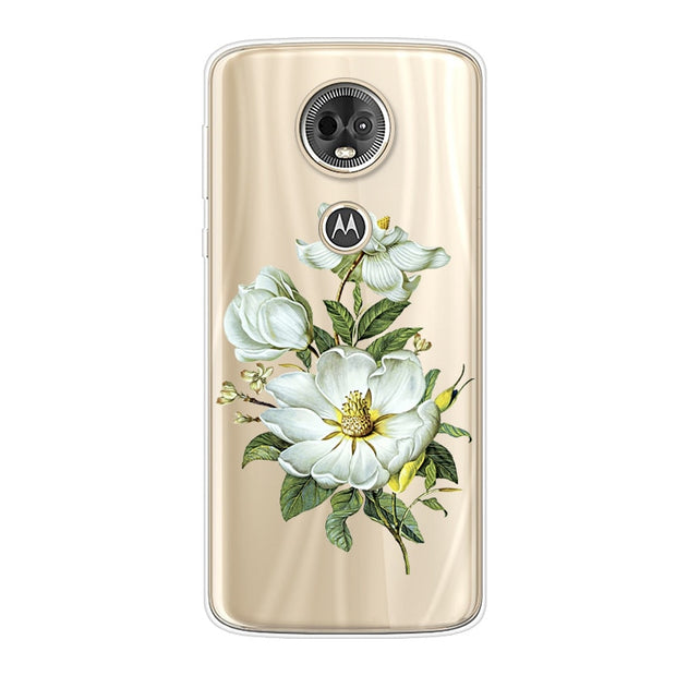 "6.0"" Case For Motorola Moto E5 Plus Case Soft TPU Transparent Back Cover For Motorola Moto E Plus Phone Case Clear Coque Funda"