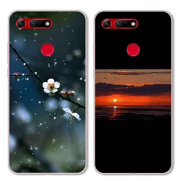 "6.4"" Case For Huawei Honor View 20 Case View20 Cover Silicone Soft TPU Case For Huawei Honor V20 V 20 Case Coque Fashion Funda"