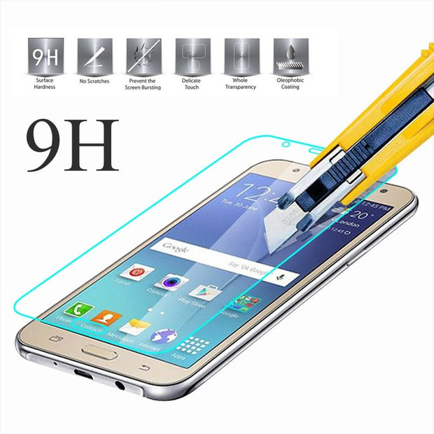 9H 2.5D 0.26 Mm Tempered Glass Screen Protector For Samsung Galaxy Mega 5.8 I9152 I9150 9152 9150 9158 Protective Film