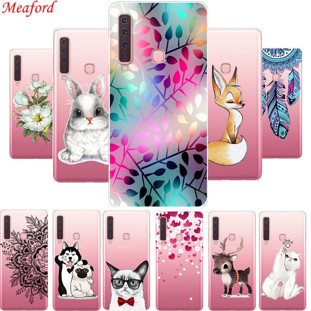 A9 2018 Phone Case For Samsung Galaxy A9 2018 6.3 Case Soft TPU Back Cover For Samsung A9 Star Pro A9s A920F Case Silicone Coque