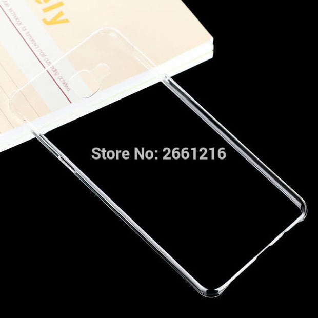 A9 A900 Hard PC Case Ultra Thin Clear Hard Plastic Cover Protective Skin For Samsung Galaxy A9 A9000 (2016) 6.0 Inch