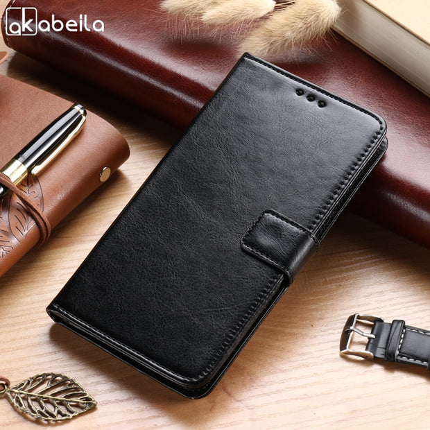 AKABEILA For LG V30 Case H930 H930DS H933 H931 H932 VS996 US998 LS998U LG  V30+ With 128 GB Storage PU Leather Flip Wallet Covers