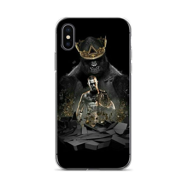 Aiboduo Conor Mcgregor Soft Silicone Cover Case For IPhone XSMax X XS XR 7 7Plus 8 8plus 5S SE 6 6s 6plus