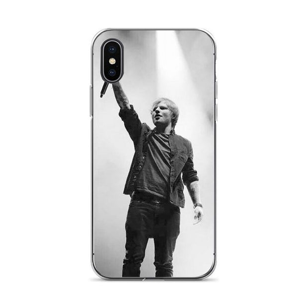 Aiboduo Ed Sheeran Soft Silicone Cover Case For IPhone XSMax X XS XR 7 7Plus 8 8plus 5S SE 6 6s 6plus