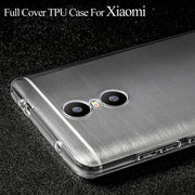 Anti-Knock Transparent TPU Case For Xiaomi Redmi 5 Plus 4X 3S Note 4 3 5A Pro Mi6X Mi5 Mi6 MiA1 Cover Phone Cases Silicon Coque