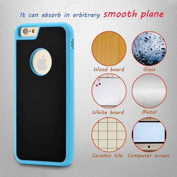 Anti-gravity Phone Cases For Iphone 6 6s 7 Plus SE 5 5s Samsung Galaxy S4 S5 S6 S7 Edge Plus Note 5 Antigravity Adsorption Cover