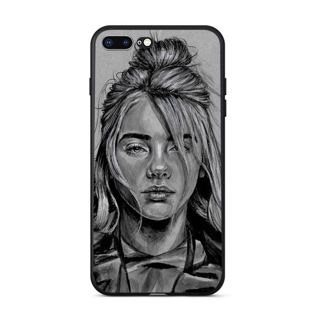 coque iphone 7 plus billie eilish