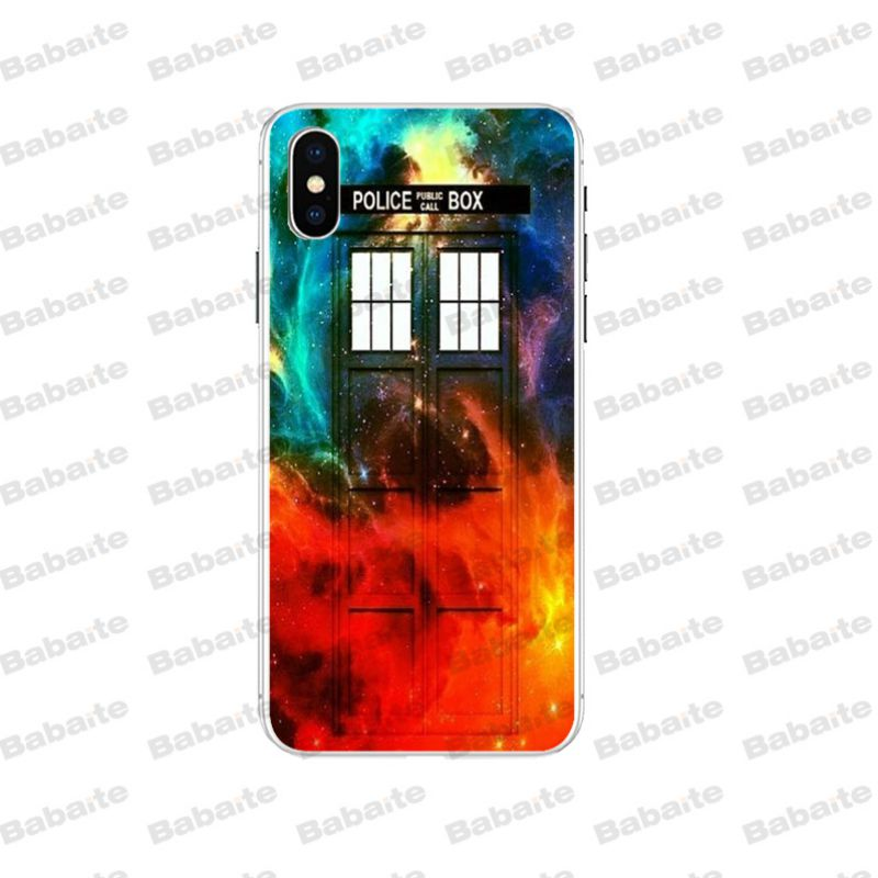 Half-wrapped Case Babaite Box Doctor Who Diy Luxury High-end Protector Phone Case For Iphone 5 5s 6s 6plus 7 7plus 8 8plus X Xs Max Xr Case Cellphones & Telecommunications