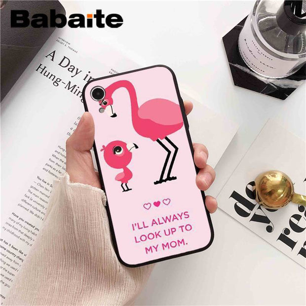Babaite Christmas Is The Best Mom Dad Customer High Quality Phone Case For IPhone 8 7 6 6S Plus X XS MAX 5 5S SE XR 10 Cases