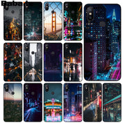 Babaite City Night Pattern TPU Soft Phone Accessories Cell Phone Case For Redmi 5 Plus Note 5 Xiaomi Mi 6 8 8 SE Note 3