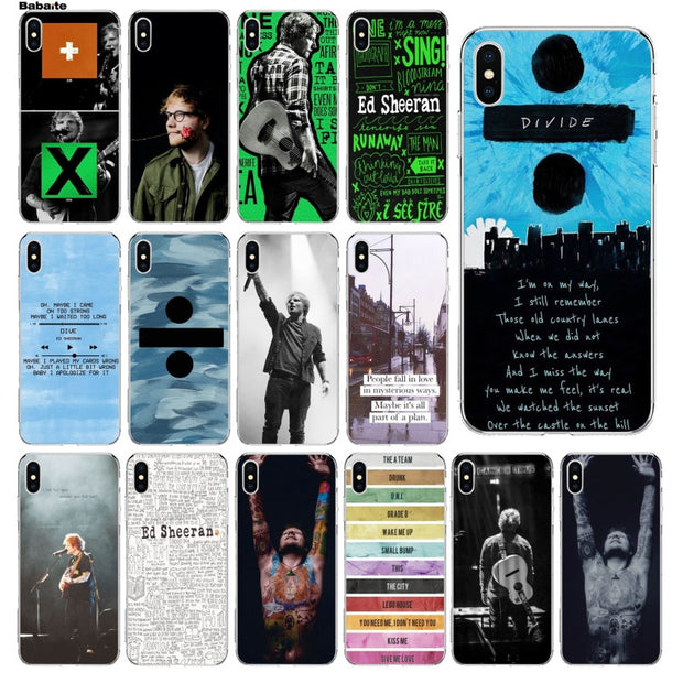Babaite Ed Sheeran Hot Selling Fashion Design Cell Case For Iphone 5 5 Copper Cases