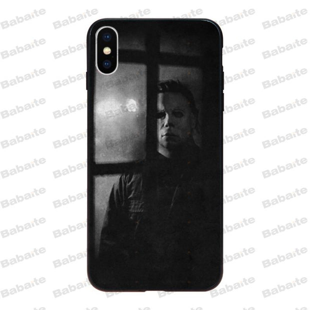 Babaite Halloween The Curse Of Michael Myers Horror Movie Silicone Phone Case For IPhone Xr XsMax 8 7 6 6S Plus Xs X 5 5S SE 5C