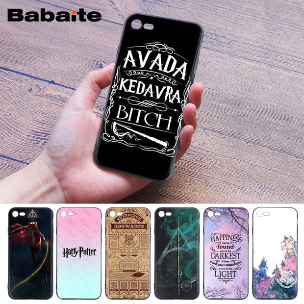 Babaite Harry Potter Diy Printing Drawing Phone Case Cover Shell