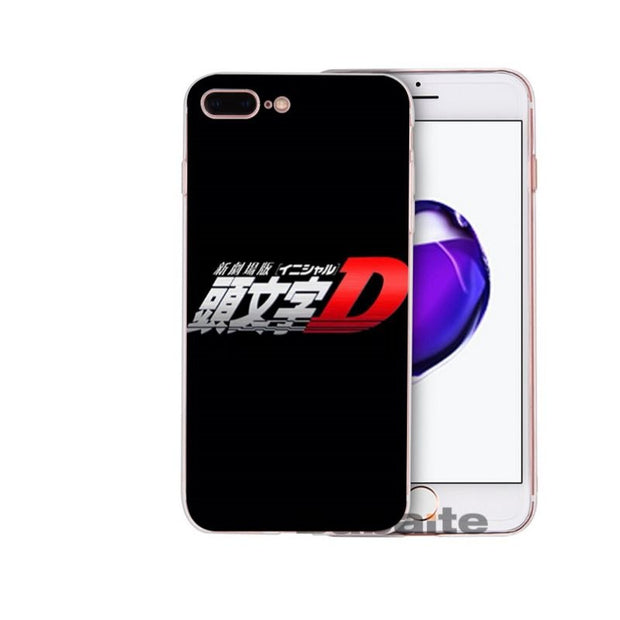 Babaite INITIAL D DIY Printing Drawing Phone Case Cover Shell For Apple IPhone 8 7 6 6S Plus X XS MAX 5 5S SE XR Mobile Cases