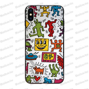 Babaite Keith Haring Soft Silicone Tpu Phone Cover For