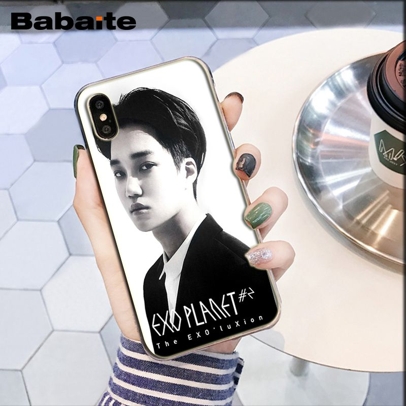 Babaite Kpop Exo Lucky One Logo Advantageous Phone Case For Iphone 7 7 Copper Cases