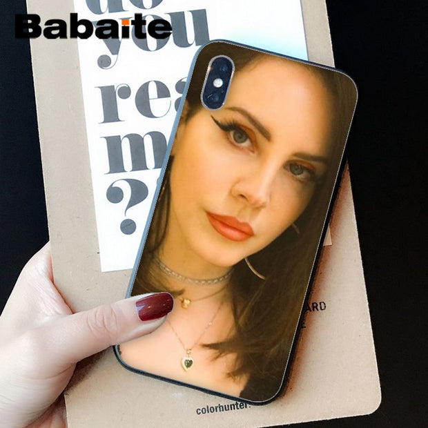 Babaite Lana Del Rey Luxury Hybrid phone case for iPhone 8 7 6 6S Plus X 1221d25c 77d9 4986 a134 fa2a785aa3b5 620x