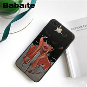 Babaite MELANIN POPPIN Black Girl Capas DIY Luxury Protector Phone Case For IPhone 5 5Sx 6 7 7plus 8 8Plus X XS MAX XR 10 Case