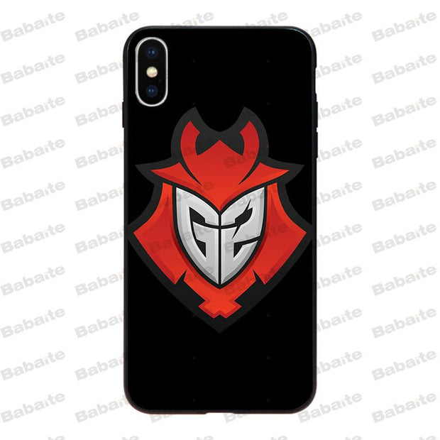 Babaite Team G2 Esports Coque Shell Phone Case For IPhone 8 7 6 6S Plus X Xs Xr XsMax 5 5s SE 5c Cover