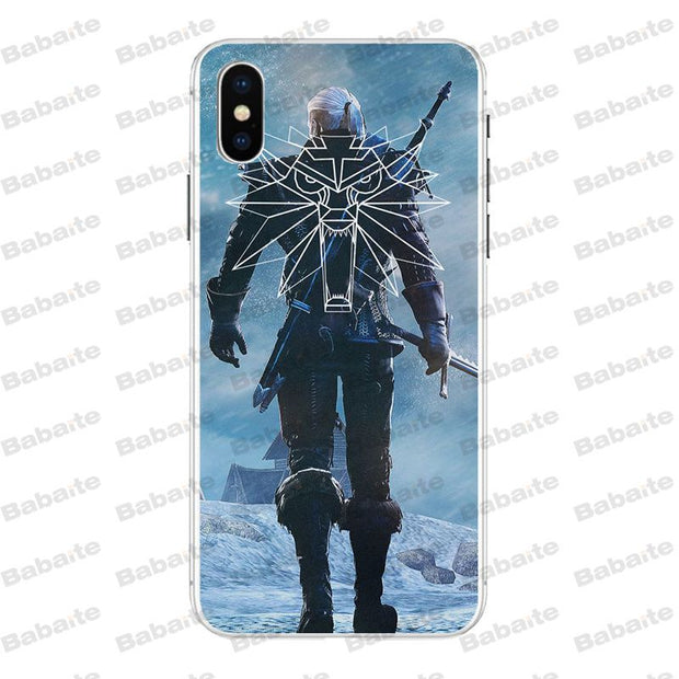 Babaite The Witcher 3 Transparent Soft Shell Phone Cover For
