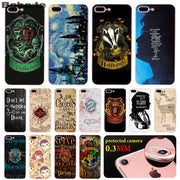 Babaite Harry Potter Pattern TPU Soft Phone Accessories Cell Phone Case For IPhone 8 7 6 6S Plus X XS MAX 5 5S SE XR Cellphones