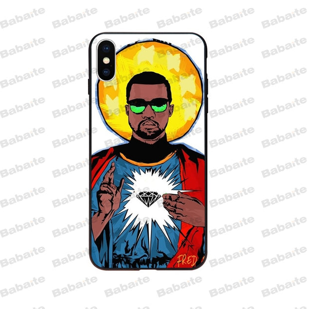 Babaite Kanye West Newly Arrived Phone Case Cover Shell For