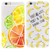 Banana Cover For Iphone 5 5S 6 6S 7 Cases Soft TPU Silicon Coque Cases For Apple Iphone 7 8 Plus Cases Cover