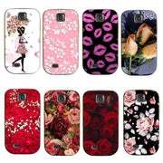 Beautiful Original Plastic Printed Cartoon Phone Case For Samsung Galaxy Mini S5570 Back Cover Cases 200 Kinds Of Designs
